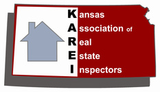 Kansas association of real estate inspectors logo